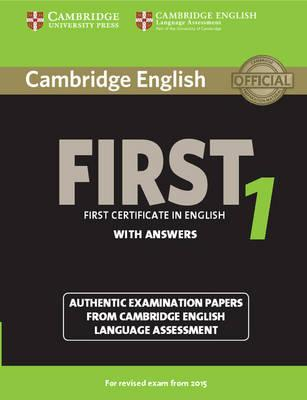 Cambridge English First 1 for Revised Exam from 2015 Student (BOK)