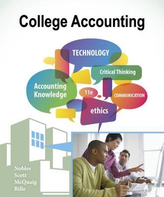 College Accounting, Chapters 1-24 (BOK)