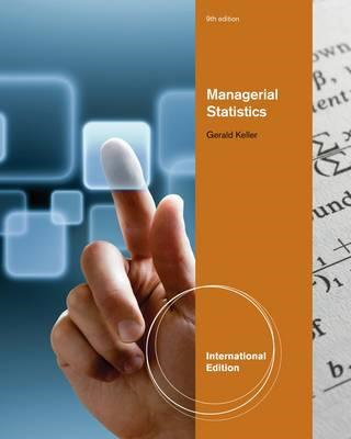 Managerial Statistics, International Edition (with Online Co (BOK)
