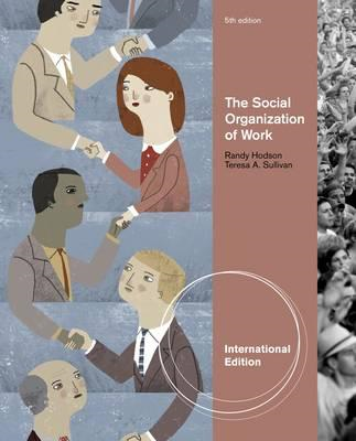 The Social Organization of Work (BOK)