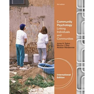 Community Psychology: Linking Individuals and Communities (BOK)