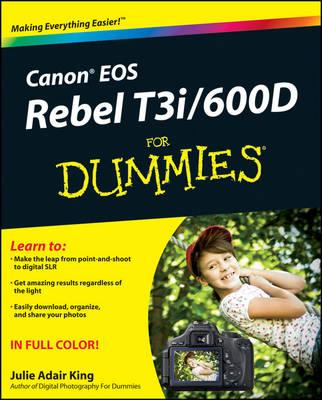 Canon EOS Rebel T3i / 600D For Dummies (BOK)
