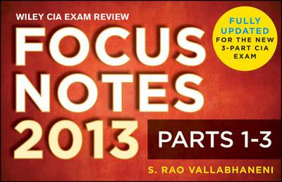 Wiley CIA Exam Review Focus Notes