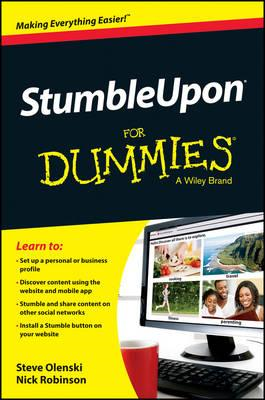 StumbleUpon For Dummies (BOK)