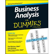 Business Analysis for Dummies (BOK)