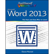 Teach Yourself Visually Word 2013 (BOK)