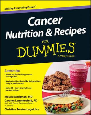 Cancer Nutrition and Recipes For Dummies (BOK)