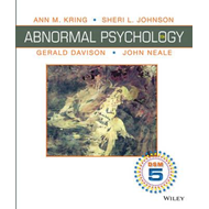 Abnormal Psychology, Binder Ready Version: Dsm-5 Update (BOK)
