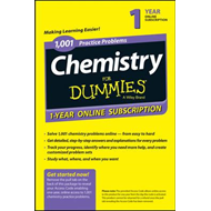 1,001 Chemistry Practice Problems for Dummies Access Code Ca (BOK)