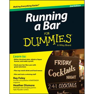 Running a Bar For Dummies (BOK)