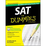 SAT For Dummies, with Online Practice (BOK)