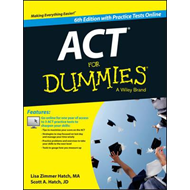 Act for Dummies, with Online Practice Tests (BOK)
