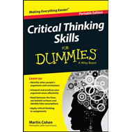 Critical Thinking Skills For Dummies (BOK)
