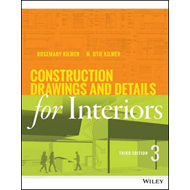 Construction Drawings and Details for Interiors, Third Editi (BOK)
