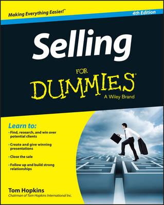 Selling For Dummies (BOK)