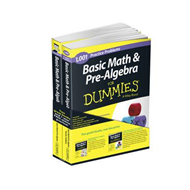 Basic Math and Pre-Algebra: Learn and Practice 2 Book Bundle (BOK)