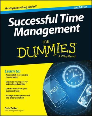 Successful Time Management For Dummies (BOK)