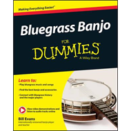 Produktbilde for Bluegrass Banjo For Dummies (BOK)