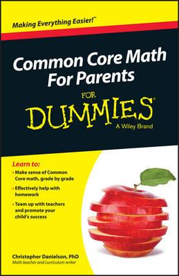 Common Core Math for Parents For Dummies with Videos Online (BOK)