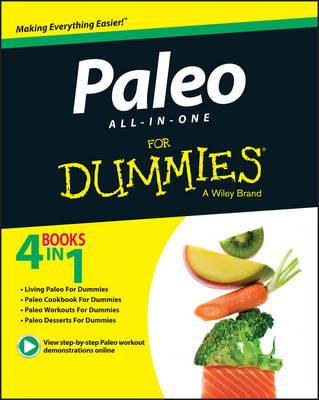 Paleo All-in-One For Dummies (BOK)