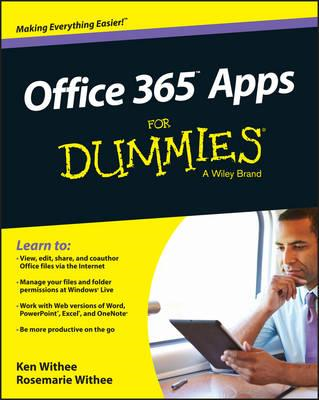 Office 365 Apps For Dummies (BOK)