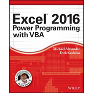 Excel 2016 Power Programming with VBA (BOK)