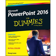 PowerPoint 2016 for Dummies (BOK)