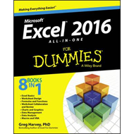 Excel 2016 All-In-One for Dummies (BOK)