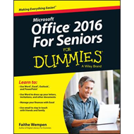 Office 2016 for Seniors for Dummies (BOK)