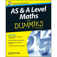 AS and A Level Maths For Dummies (BOK)