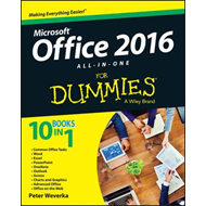 Office 2016 All-In-One For Dummies (BOK)