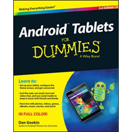 Android Tablets for Dummies, 3rd Edition (BOK)