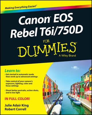 Canon EOS Rebel T6i / 750D For Dummies (BOK)