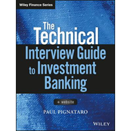 Technical Interview Guide to Investment Banking (BOK)