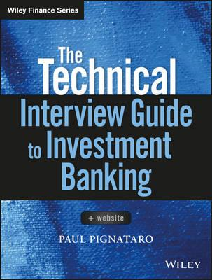Technical Interview Guide to Investment Banking + Website (BOK)
