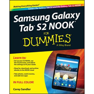Samsung Galaxy Tab 4 Nook For Dummies (BOK)