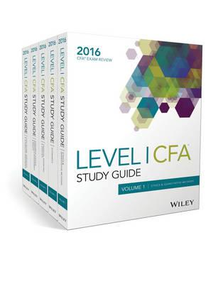 Wiley Study Guide for 2016 Level I CFA Exam: Complete Set (BOK)