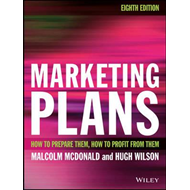 Marketing Plans 8E - How to Prepare Them, How to  Profit Fro (BOK)