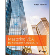 Mastering VBA for Microsoft Office 2016 (BOK)