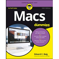 Macs for Dummies, 14th Edition (BOK)