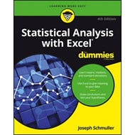 Statistical Analysis with Excel For Dummies (BOK)