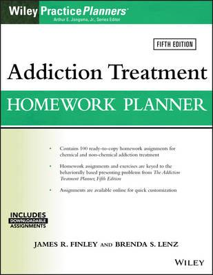 Addiction Treatment Homework Planner (BOK)