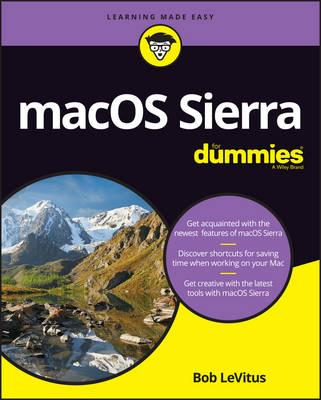 Macos Sierra for Dummies (BOK)
