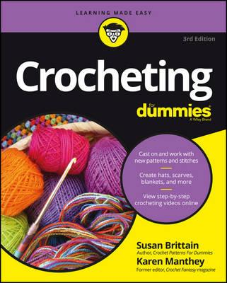 Crocheting For Dummies with Online Videos (BOK)