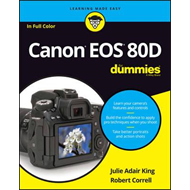 Canon Eos 80D for Dummies (BOK)