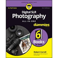 Digital SLR Photography All-In-One for Dummies, 3rd Edition (BOK)