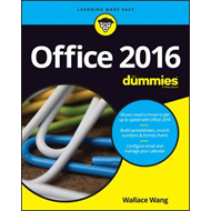 Office 2016 For Dummies (BOK)