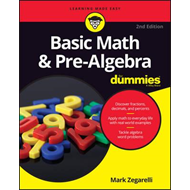 Basic Math and Pre-Algebra For Dummies (BOK)