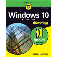 Windows 10 All-In-One for Dummies, 2nd Edition (BOK)