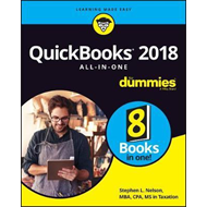 QuickBooks 2018 All-in-One For Dummies (BOK)